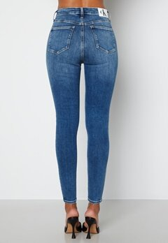 Calvin Klein Jeans High Rise Super Skinny Jeans Denim Medium bubbleroom.fi