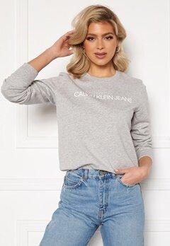 Calvin Klein Jeans Institutional Core Logo CN 038 L Grey Heather Bubbleroom.fi