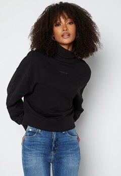 Calvin Klein Jeans Logo Trim Roll Neck BEH Ck Black bubbleroom.fi