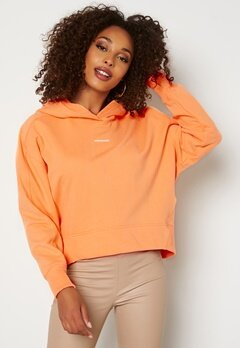 Calvin Klein Jeans Micro Branding Hoodie SFX Crushed Orange Bubbleroom.fi