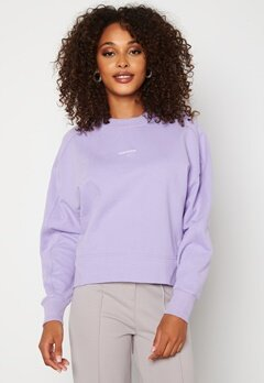 Calvin Klein Jeans Micro Branding Sweatshirt V0K Palma Lilac Bubbleroom.fi