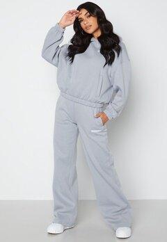 Calvin Klein Jeans Micro Flock Jog Pants PS8 Marble Grey bubbleroom.fi