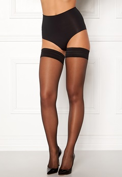 Calvin Klein Sheer High 12 Den Tights Black Bubbleroom.fi