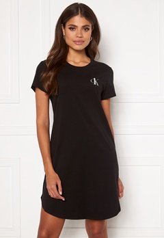 Calvin Klein S/S Nightshirt 020 Grey Heather Bubbleroom.fi