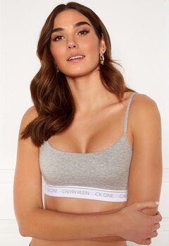 Calvin Klein Unlined Bralette 020 Grey Heather Bubbleroom.fi