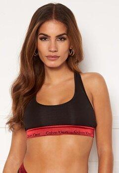 Calvin Klein Unlined Bralette 98G Black_Red Gala W Bubbleroom.fi