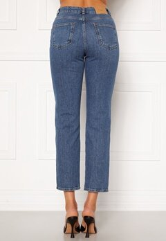 VERO MODA Carla HR Reg Ankle Jeans Medium Blue Denim Bubbleroom.fi