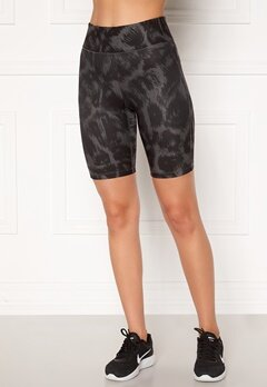 Casall Awake Printed Biker Tights 998 Passion Grey Bubbleroom.fi