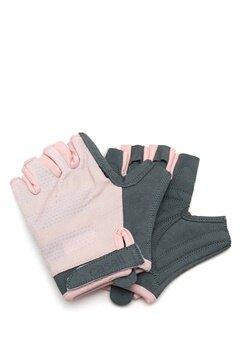 Casall Exercise Glove 307 Lucky Pink/grey Bubbleroom.fi