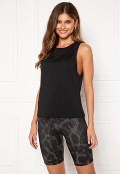 Casall Iconic Loose Tank 901 Black Bubbleroom.fi