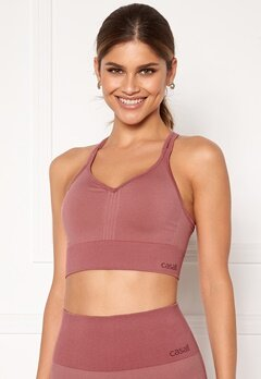 Casall Seamless Sports Top 123 Comfort Pink Bubbleroom.fi