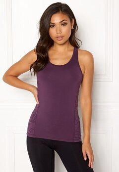 Casall Swirl Racerback Top 621 Pulse Purple Bubbleroom.fi