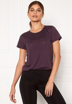 Casall Texture Tee 125 Revive Purple Bubbleroom.fi