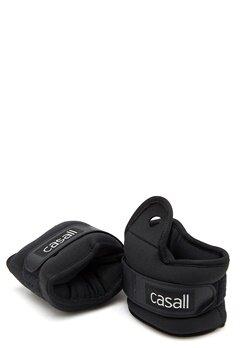 Casall Wrist Weights 2x2kg 901 Black Bubbleroom.fi