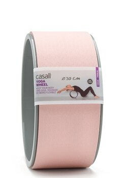 Casall Yoga Wheel Lucky Pink / Grey Bubbleroom.fi