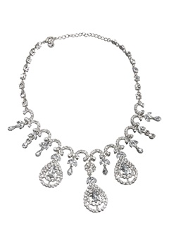 Love Rocks Cascade Necklace Silver colour Bubbleroom.fi