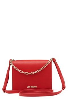 Love Moschino Chain Crossbody Bag 500 Red Bubbleroom.fi