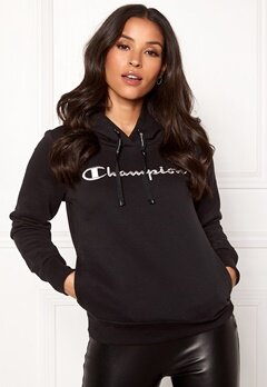 Champion Hooded Sweatshirt Black Beauty Bubbleroom.fi