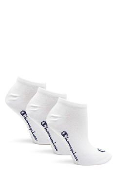Champion No Show Socks 3-Pack White Bubbleroom.fi