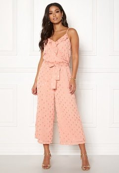 OBJECT Chandra S/L Jumpsuit Misty Rose Bubbleroom.fi