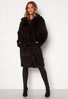 OBJECT Charlott Coat Black Bubbleroom.fi