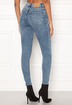 CHEAP MONDAY Mid Skin Jeans Media Blue Bubbleroom.fi