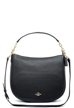 COACH Chelsey Leather Bag LIBLK Black Bubbleroom.fi