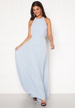 Chi Chi London Morghan Pleated MaxiDress Blue Bubbleroom.fi