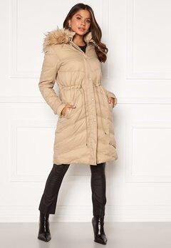 Chiara Forthi Adelfia Padded Jacket Camel Bubbleroom.fi