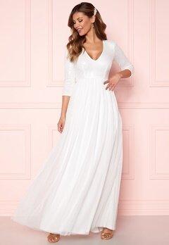 Chiara Forthi Admirante sparkling gown White Bubbleroom.fi