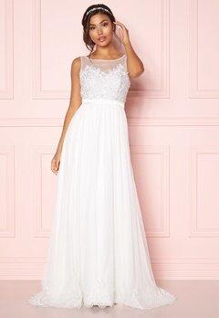 Chiara Forthi Alina Gown White Bubbleroom.fi