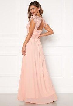 Chiara Forthi Amante lace Gown Apricote Bubbleroom.fi