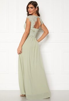 Chiara Forthi Amante lace Gown Light green Bubbleroom.fi