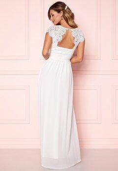 Chiara Forthi Amante Lace Gown White Bubbleroom.fi