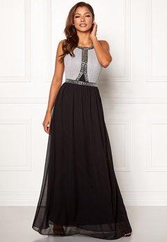 Chiara Forthi Anastasia embellished gown Black / Grey Bubbleroom.fi