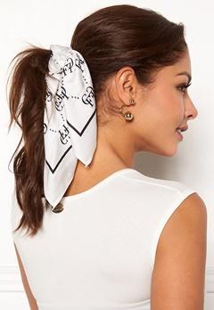 Chiara Forthi Arezzo scarf Black / Offwhite Bubbleroom.fi
