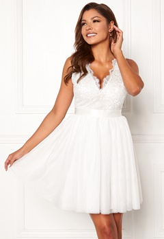 Chiara Forthi Audrey dress White Bubbleroom.fi