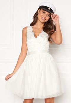 Chiara Forthi Audrey tulle dress White Bubbleroom.fi