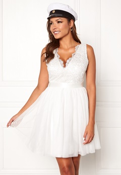 Chiara Forthi Audrey tulle dress White Bubbleroom.fi