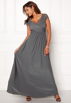 Chiara Forthi Aurelia dress Dark grey Bubbleroom.fi