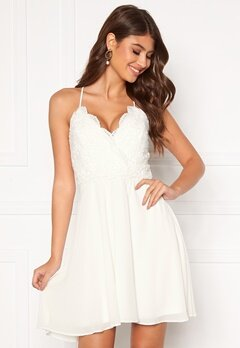 Chiara Forthi Bella dress White Bubbleroom.fi