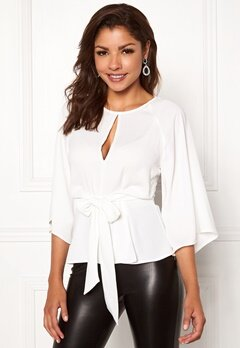 Chiara Forthi Bellora top Winter white Bubbleroom.fi