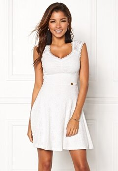 Chiara Forthi Biana Lace Dress White Bubbleroom.fi