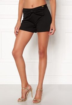 Chiara Forthi Bow Shorts Black Bubbleroom.fi