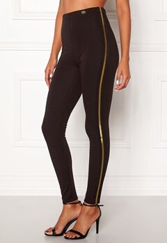 Chiara Forthi Calanta striped leggings Black Bubbleroom.fi