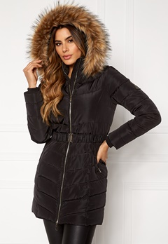 Chiara Forthi Campitello Padded Jacket Black Bubbleroom.fi