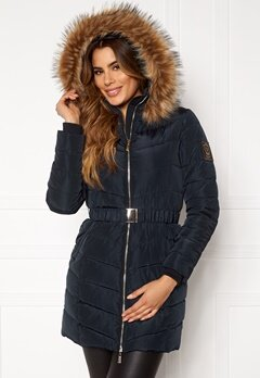 Chiara Forthi Campitello Padded Jacket Navy Bubbleroom.fi