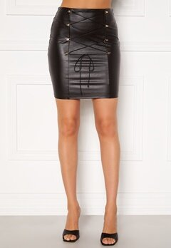 Chiara Forthi Cardi lace up skirt Black Bubbleroom.fi
