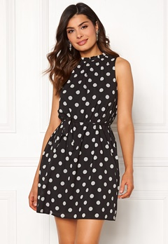 Chiara Forthi Caruso dress Dotted / Black Bubbleroom.fi