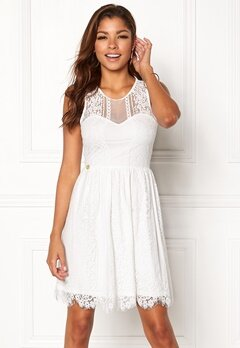 Chiara Forthi Celeste dress White Bubbleroom.fi